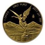 2011 1 oz Proof Gold Mexican Libertad