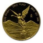 2011 1/20 oz Proof Gold Mexican Libertad