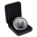1995 2 oz Proof Silver Australian Kookaburra -NAA Coin Fair Privy