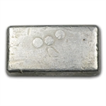 5 oz Engelhard Silver Bar (Poured, 1st Generation) .999 Fine