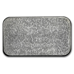 1 oz Engelhard Silver Bar (Wide, Logo / Frosted, 1980, 6-digit)