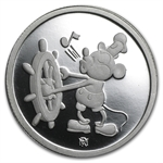 1 oz Mickey Mouse 60 Years (Proof) .999 Fine