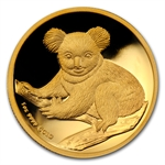 2009-P 1 oz Proof Gold High Relief Koala (w/Box & CoA)