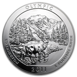 2011 5 oz Silver ATB - Olympic National Park, WA