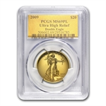2009 Ultra High Relief Double Eagle MS-69 PL PCGS (Gold Foil)
