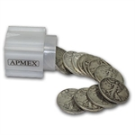 $10 1933-S Walking Liberty Halves - 90% Silver 20-Coin Roll