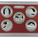 2010-2013 America The Beautiful Silver Quarter Proof Sets