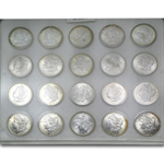 1885 Morgan Dollar MS-60+ Blanchard Set - 20 Coin Slab