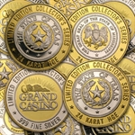 1.5 oz .999 Silver Gaming Token - Collector's Series (Various)