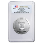 2010-P 5 oz Silver ATB Hot Springs SP-69 PCGS First Strike