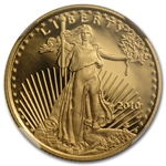 2010-W 1/4 oz Proof Gold American Eagle PF-70 NGC (ER)
