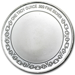 1 oz God Bless America Silver Round