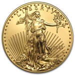 2011-W 1 oz Burnished Gold American Eagle (w/Box & CoA)