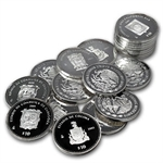 1 oz Proof Silver States of Mexico Coin - Random (Capsule Only)