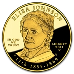 2011-W 1/2 oz Proof Gold Eliza Johnson (w/Box & CoA)