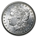 1892-CC Morgan Dollar - Brilliant Uncirculated