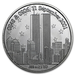"1 oz ""We Will Never Forget"" Silver Round"