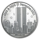 1 oz Forever In Our Hearts 9/11 Silver Round