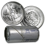 1985 1 oz Silver Mexican Libertad (20-Coin Original Mint Roll)