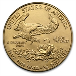 1986 4-Coin Gold American Eagle Brilliant Uncirculated Set