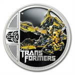 2011 1 oz Proof Silver Bumble Bee- 2nd Transformers Series