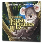 2011 1/2 oz Proof Silver Australian Bush Babies Koala