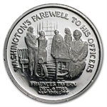1/2 oz Platinum - George Washington Medal