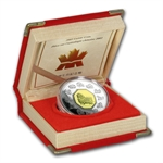 2003 1 oz Silver Canadian Proof Year of the Sheep (Box & COA)