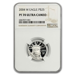 2004-W 1/4 oz Proof Platinum American Eagle PF-70 NGC UCAM