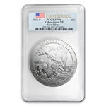 2010-P 5 oz Silver ATB Yellowstone PCGS SP-69 PCGS First Strike