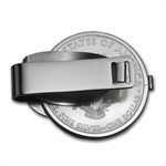2014 1 oz Silver Eagle Money Clip (Sterling Silver Polished)