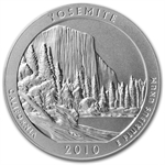 2010-P 5 oz Silver ATB Yosemite NGC SP-70 Early Release