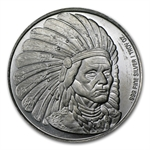 1 oz Silver Round - Native American Chief .999 Fine