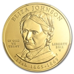 2011-W 1/2 oz Uncirculated Gold Eliza Johnson PCGS MS-70