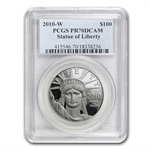 2010-W 1 oz Proof Platinum American Eagle PR-70 PCGS
