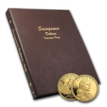 Sacagawea Dollar 36 Coin Set - 2000-2011 In Dansco Album