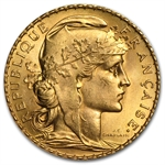 French Gold 20 Franc (Rooster) (Brilliant Uncirculated)