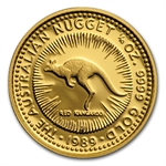 1989 1/10 oz Australian Proof Gold Nugget