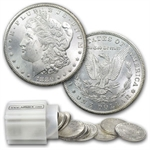 1880-CC Morgan Dollar - Brilliant Uncirculated Roll 20 Coins