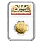 2010-W 1/2 oz Proof Gold Mary Todd Lincoln PF-70 NGC UCAM