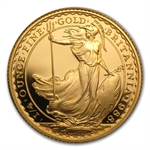 1988 1/4 oz Proof Gold Britannia