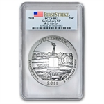 2011 5 oz Silver ATB 5-Coin Set BU or Better First Strike PCGS