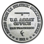 1 oz U.S. Assay Office Silver Round .999 Fine
