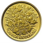 1977-1985 1/2 oz Gold Canadian $100 Proof - (Impaired)