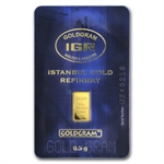 1/2 gram Istanbul Gold Refinery Bar (In Assay) .9999 Fine