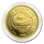 1986 1/2 oz Australian Proof Gold Nugget