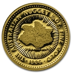 1986 1/10 oz Australian Proof Gold Nugget