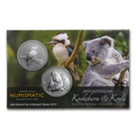 2010 Australian Kookaburra and Koala ANA Boston Money Fair