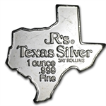 Big D .999 Fine Silver 1 oz - State of Texas