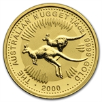 2000 1/4 oz Australian Gold Nugget